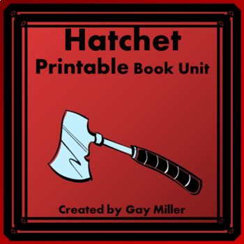 Hatchet vocabulary and tests teaching resources teachers pay hatchet gary paulsen printable book unit fandeluxe Choice Image