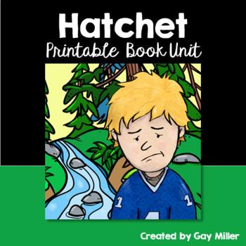 Hatchet Novel Study: vocabulary, comprehension quizzes, writing, activities