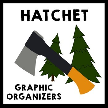 Hatchet - Graphic Organizer Pack