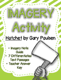 Imagery Lesson Activity for Hatchet by Gary Paulsen