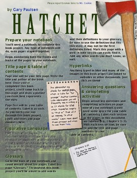 Hatchet Interactive Book Project