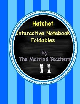 Hatchet Interactive Literature and Grammar Notebook Foldables