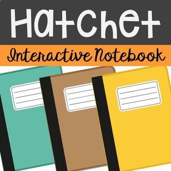 Hatchet Interactive Notebook Novel Unit Study Activities,