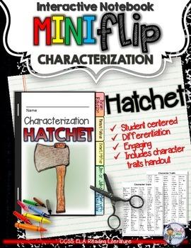 HATCHET: INTERACTIVE NOTEBOOK CHARACTERIZATION MINI FLIP