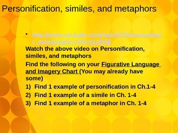 Hatchet Lesson 2 PowerPoint