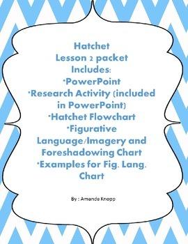 Hatchet Lesson 2 package