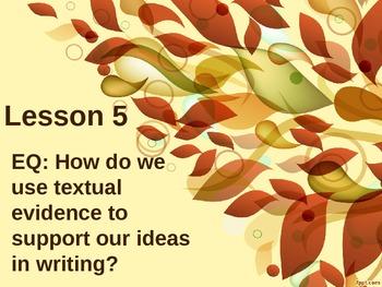 Hatchet Lesson 5 PowerPoint