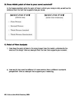 Hatchet Literature Circle Journal Student Packet