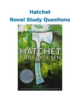 Hatchet Literature Circle/Novel Study Questions