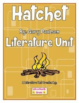Hatchet Literature Unit