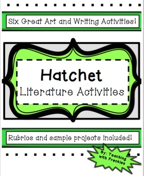 Hatchet Literature and Vocabulary Activities