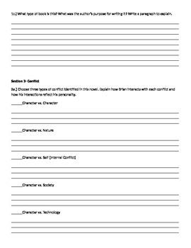 Hatchet Novel Extension Project
