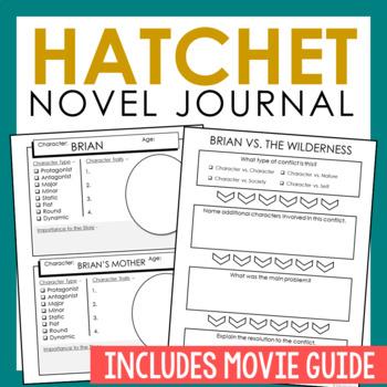 Hatchet Novel Unit Study Activities, Book... by Elle Madison ... : hatchet worksheets free : All Worksheets