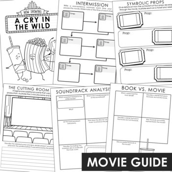 Hatchet Novel Unit Study Activities, Interactive Notebook and Worksheet Formats