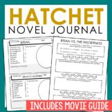 Hatchet Novel Unit Study Activities, Interactive Notebook