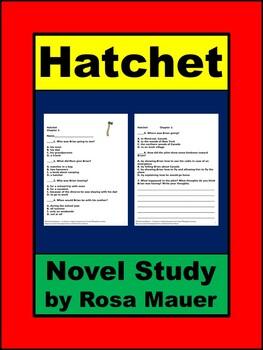 Hatchet Book Unit