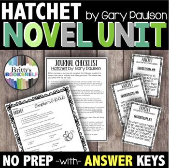 Hatchet Novel Study - A Complete Literature Unit