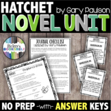 Hatchet Novel Study - A Complete Literature Unit