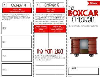 Boxcar Children Foldable Novel Study Unit