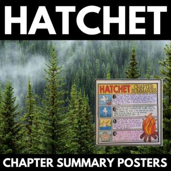 Hatchet Novel Study Unit Literature Guide - Gary Paulsen - Chapter Activities