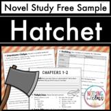 Hatchet Novel Study Unit: FREE Sample
