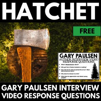 Hatchet Novel Study Unit Literature Guide - Gary Paulsen Interview Questions