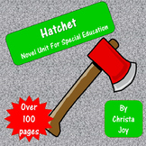 Hatchet Novel Study for Special Education