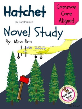 Hatchet Novel Study l Common Core l Social Media Character Change Project