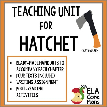 Hatchet novel study activities