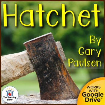 Hatchet Novel Study Book Unit by The Teaching Bank | Teachers Pay ...