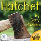Hatchet Novel Study Book Unit Printable and for Google Drive