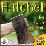 Hatchet Novel Study Book Unit Printable and for Google Drive Distance Learning