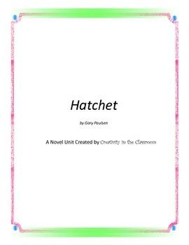 Hatchet Novel Unit Plus Grammar