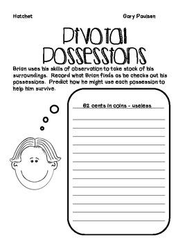 Hatchet: Pivotal Possessions