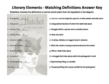 Hatchet Plot Diagram and Literary Terms