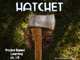 Hatchet Project Based Learning ch.1-5