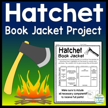 Hatchet project create a book jacket hatchet book report activity ccuart Image collections