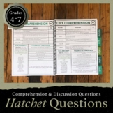 Hatchet Questions and Answers: Discussion Guide