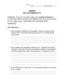 Hatchet Quiz:  Chapters 9-12