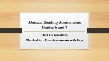 Hatchet Reading Assessments—Grades 6-7
