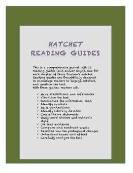 Hatchet Reading Guide
