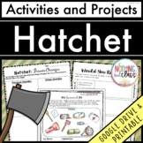 Hatchet: Reading Response Activities and Projects
