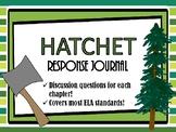 Hatchet Response Journal Discussion Questions