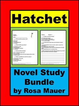 Hatchet Series Novel Study Bundle