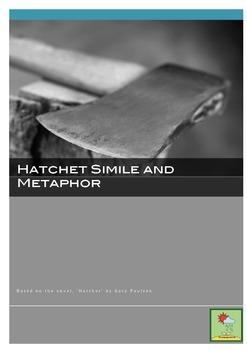 Hatchet ~ Simile & Metaphor