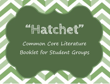 Hatchet Student Literature Booklet