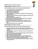 Hatchet Study Guide Questions