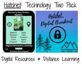 Hatchet Tech Activities: Hyperdoc & Digital Breakout / Escape Room
