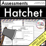 Hatchet: Tests, Quizzes, Assessments Distance Learning