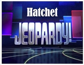 Hatchet Unit Jeopardy Game